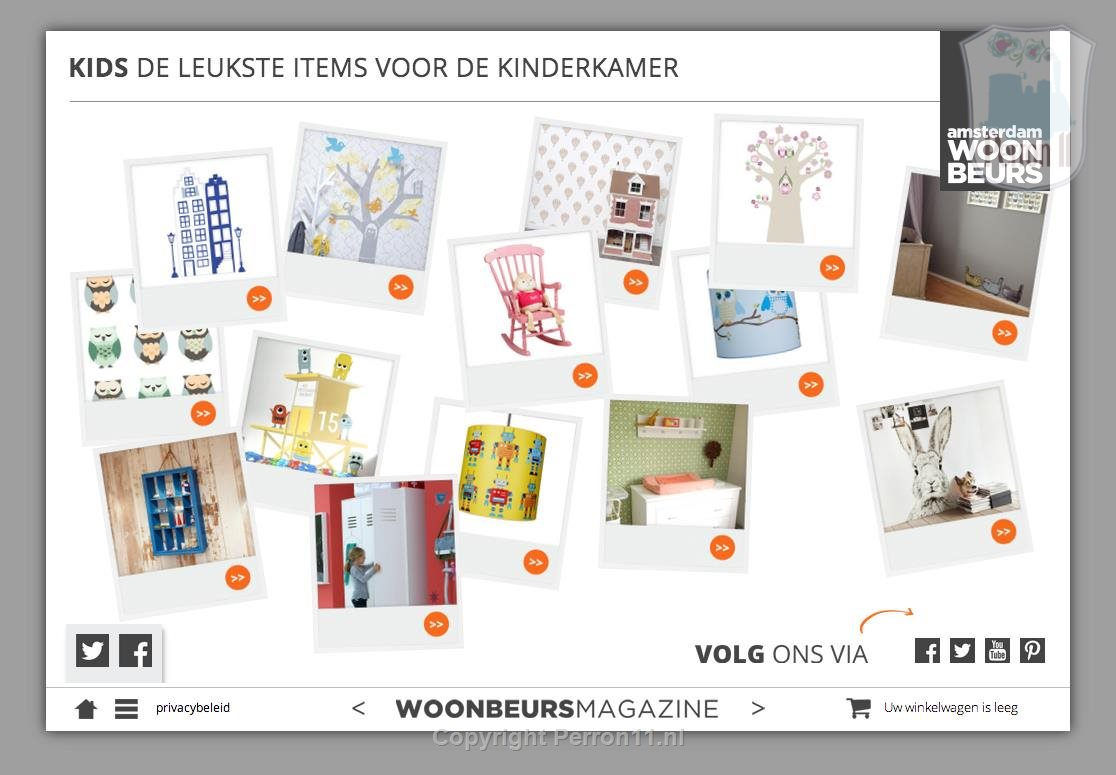 Kids wallpaper woonbeurs magazine perron11