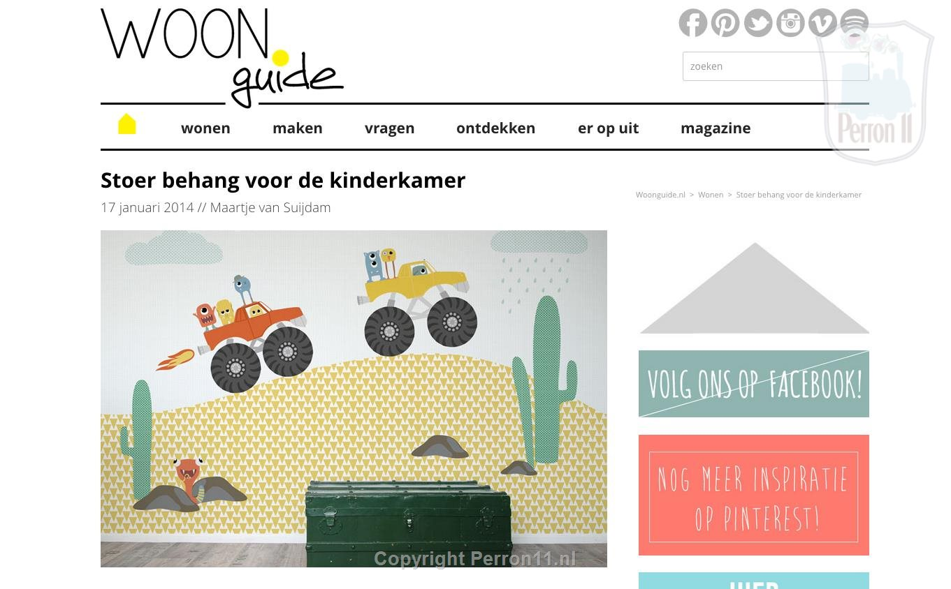 children's wallpaper Perron 11 on Living Guide